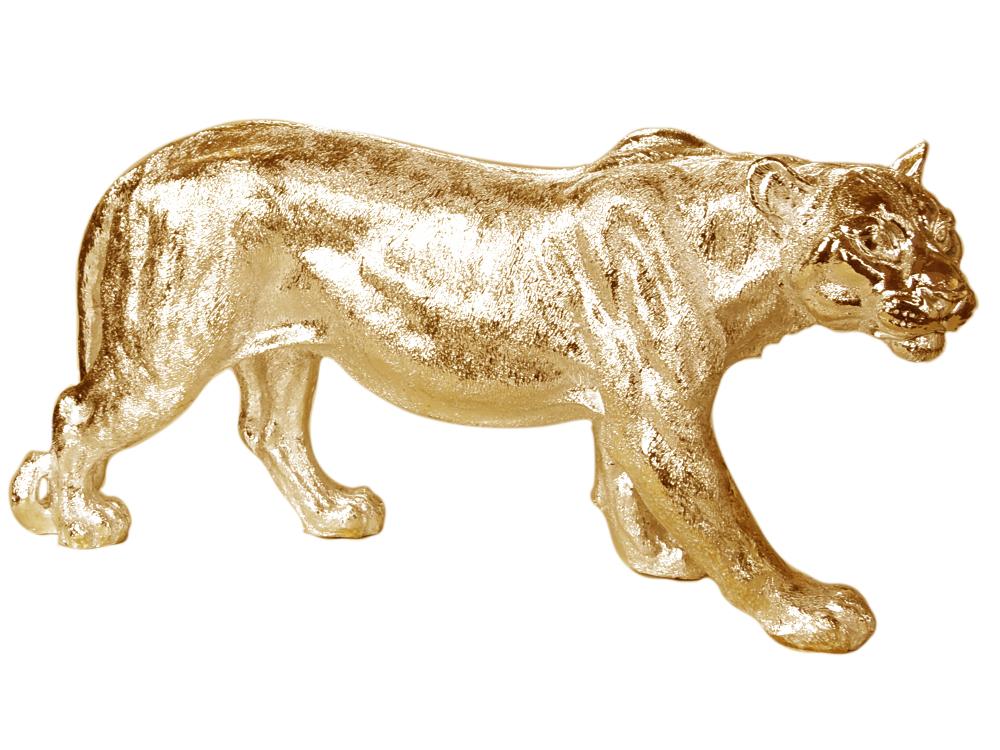 EUROHOME Золотая фигура львицы A453-G z?oty