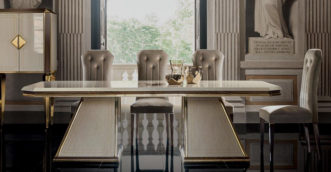 Arredo Classic DIAMANTE Стол  прямоугольный раскладной