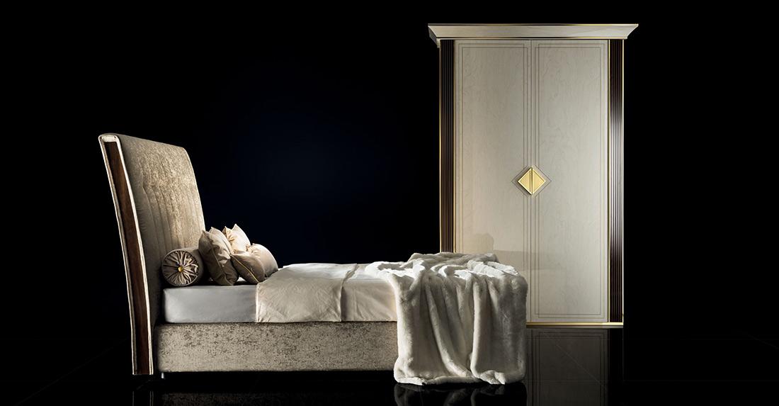 Arredo Classic DIAMANTE Кровать 160/190 с мягким изголовьем