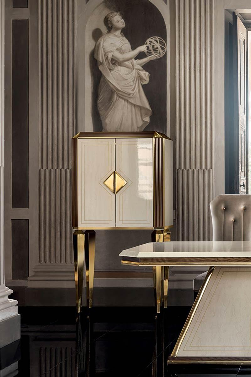 Arredo Classic DIAMANTE Витрина 2-х дверная маленькая