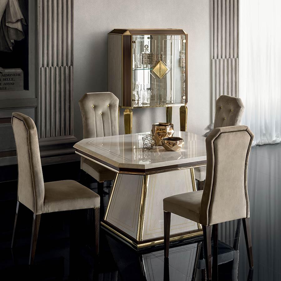 Arredo Classic DIAMANTE Стол квадратный раскладной