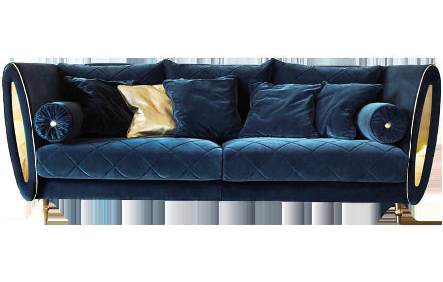 Arredo Classic SIPARIO Диван 3-х местный с подушками