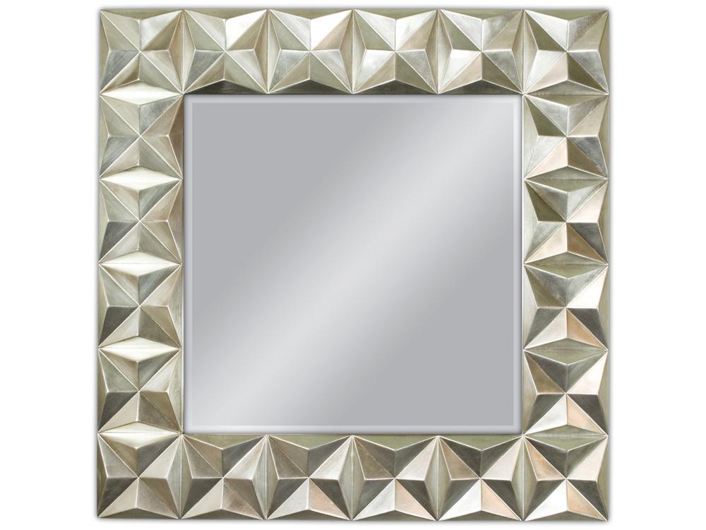 EUROHOME Зеркало 3D рамка 100×100 PU-150