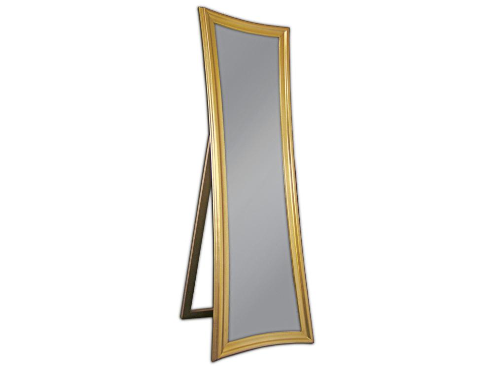 EUROHOME Зеркало стоящее в деревянной раме золото