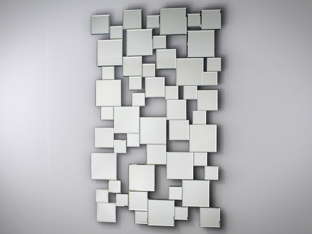 EUROHOME Декор зеркальный квадраты atm024