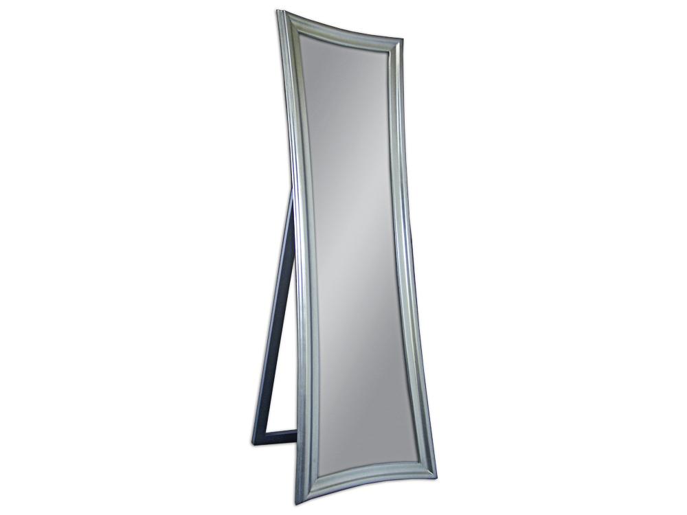 EUROHOME Зеркало стоящее в деревянной раме серебро