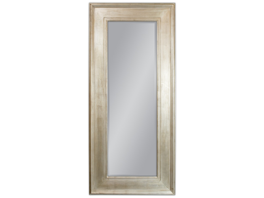 EUROHOME Зеркало в деревянной серебряной раме 80×180 2231