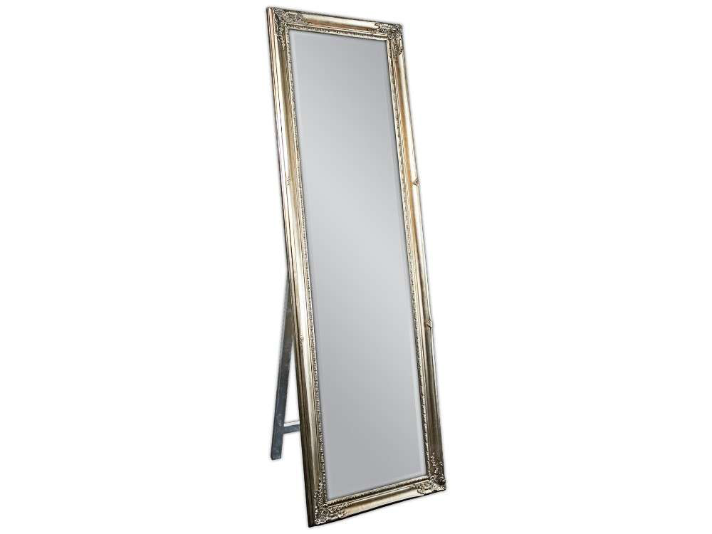 EUROHOME Серебряное напольное зеркало