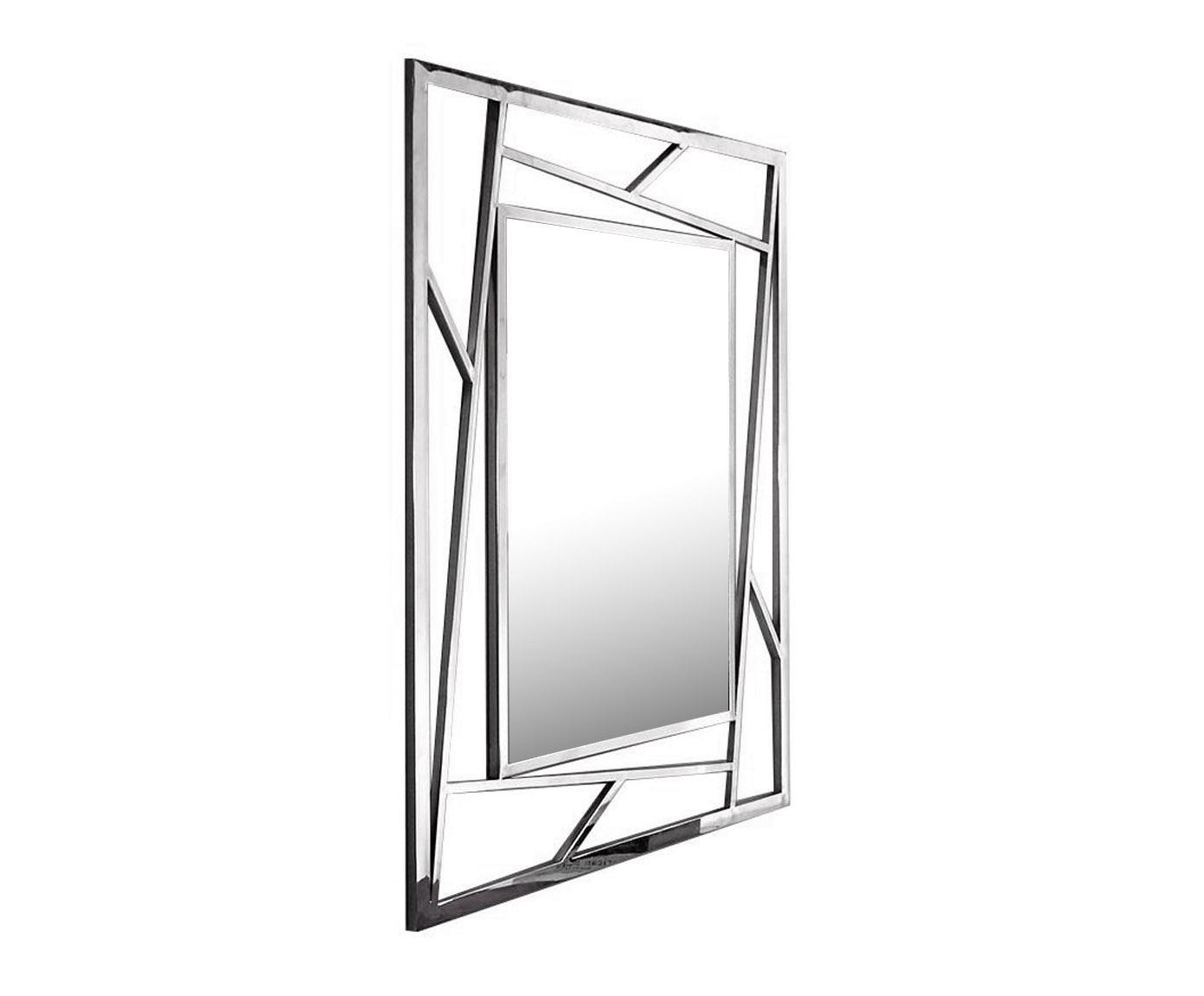 EUROHOME Зеркало в геометрической стальной раме GG-1019A (JSM461)