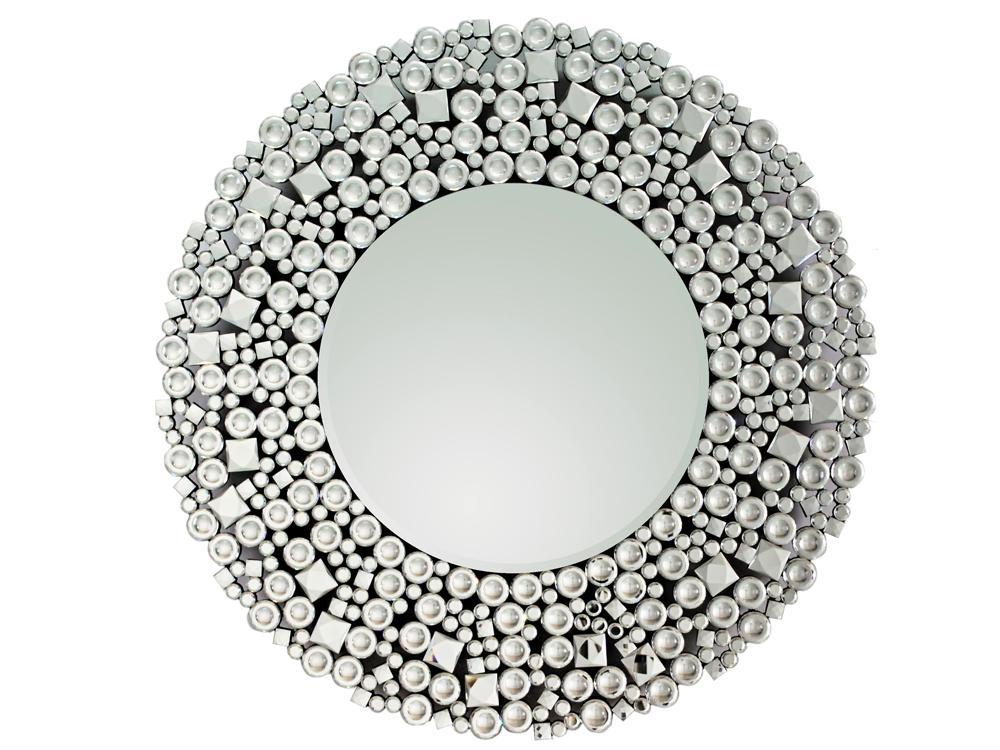 EUROHOME Гламурное зеркало в роскошной круглой раме
