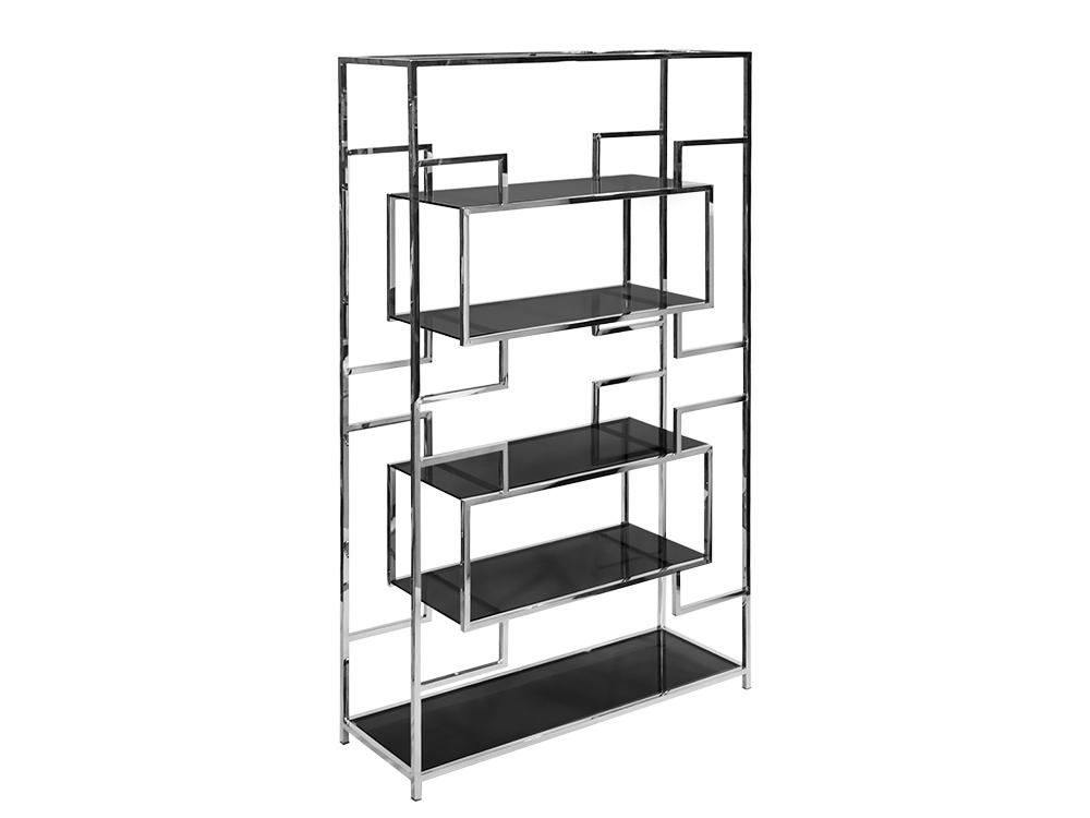 Eurohome Стальной геометрический книжный шкаф GG-1066