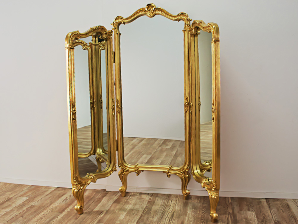 EUROHOME Напольный трельяж золото