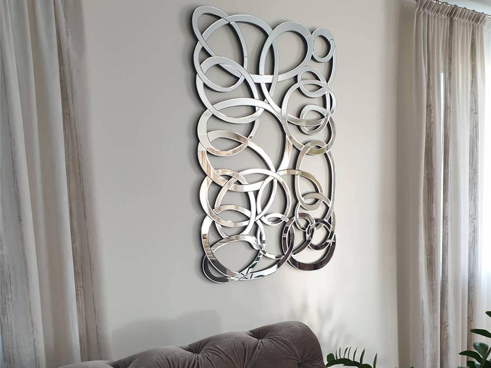 EUROHOME Прямоугольный декор зеркальный 120