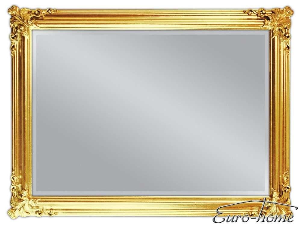 EUROHOME Зеркало в деревянной раме 90×120