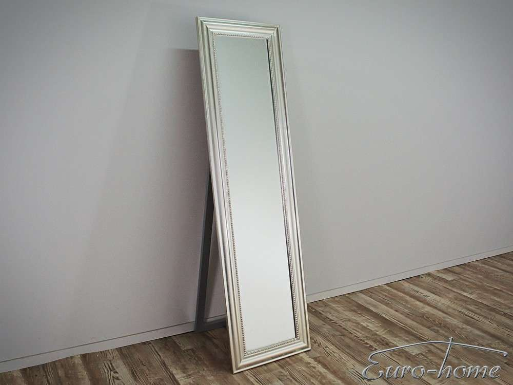 EUROHOME Напольное зеркало в классической серебрянной раме