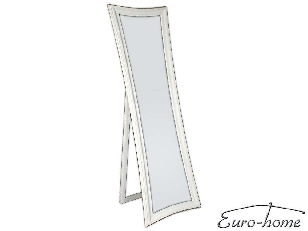 EUROHOME Зеркало стоящее в деревянной раме протертое