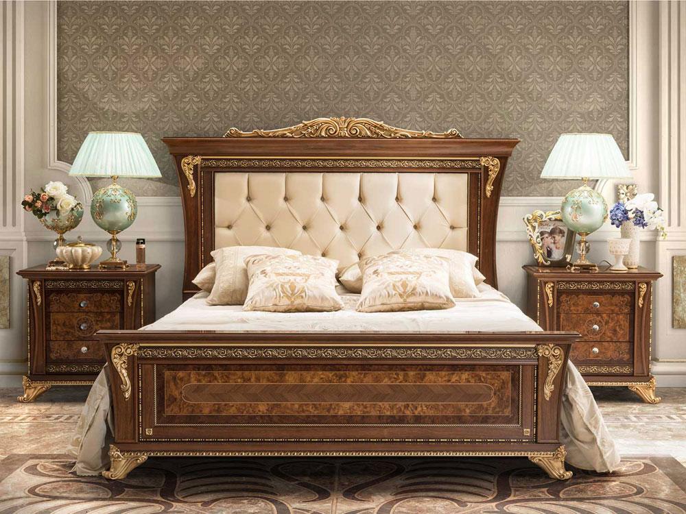 MOBILPIU Aida Кровать из зко-кожи 180/200