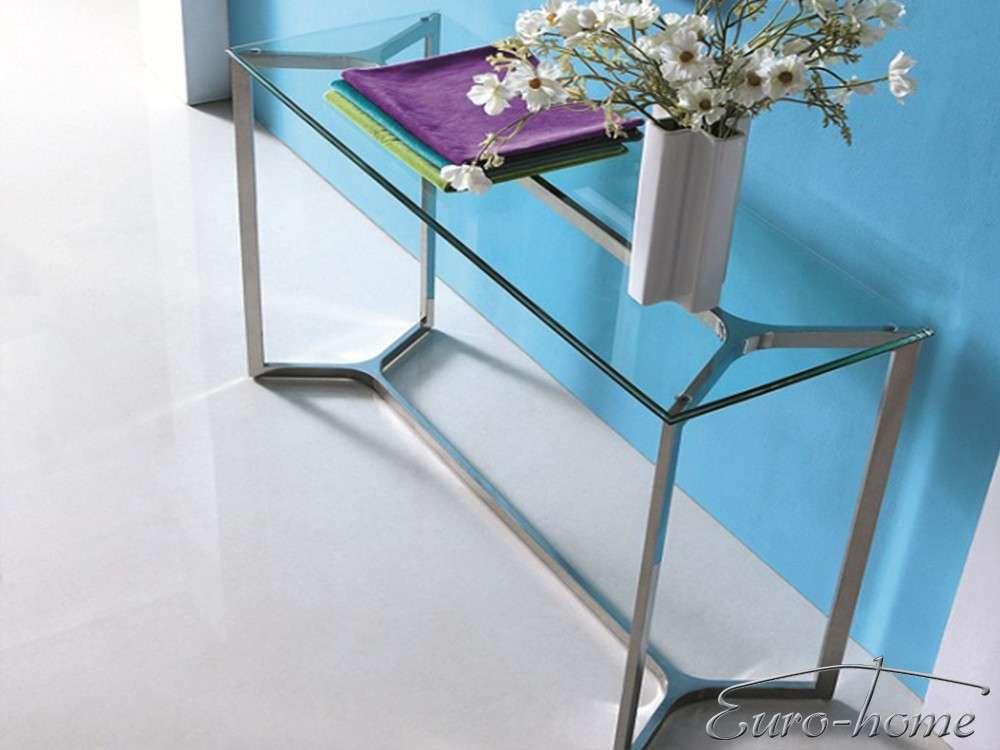 Eurohome Консоль с прозрачным стеклом GG-1007