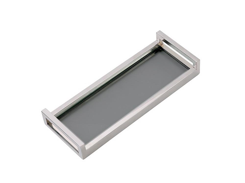 Eurohome Стеклянная подставка для торта 42x16x6