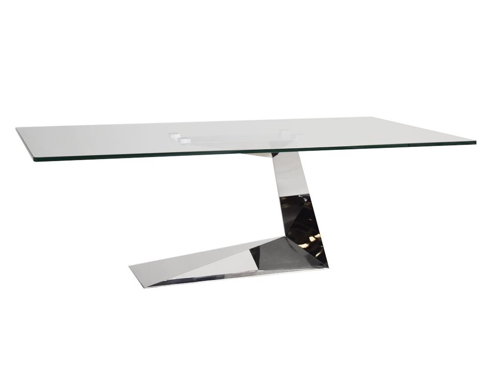 Eurohome Дизайнерский журнальный столик 130 х 70 х 43 см CT2101C