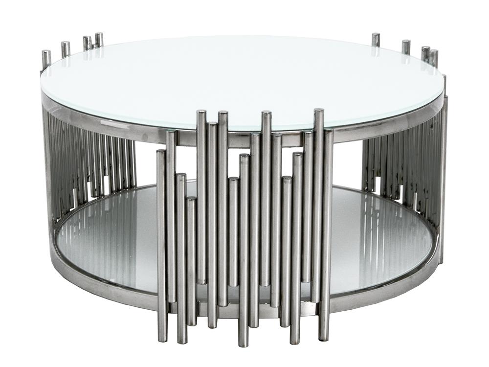 Eurohome Дизайнерский журнальный столик с белым верхом C416