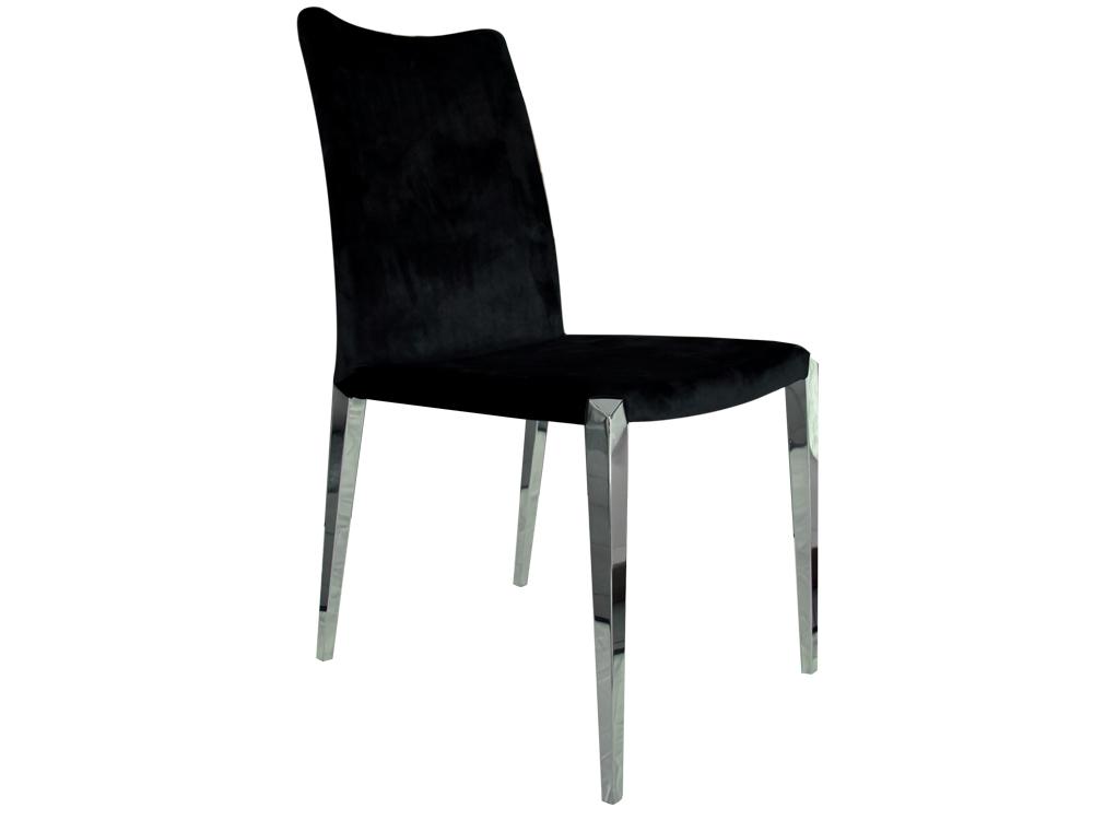 Eurohome Минималистическое велюровое кресло CY6132B