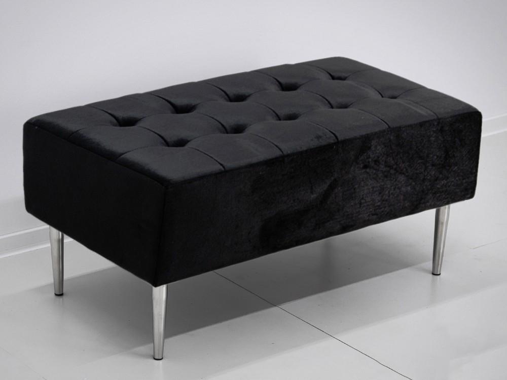 Eurohome POUF007 90x50x42cm ЧЕРНЫЙ