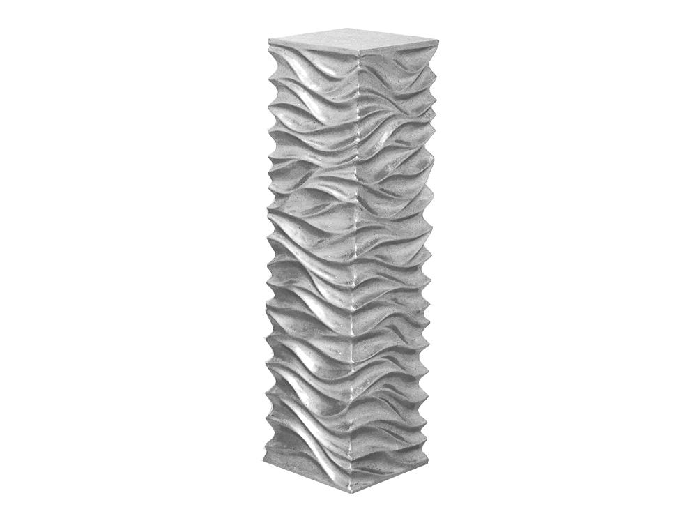 Eurohome ПОСТАМЕНТ 2080/3 серебро 100×27см