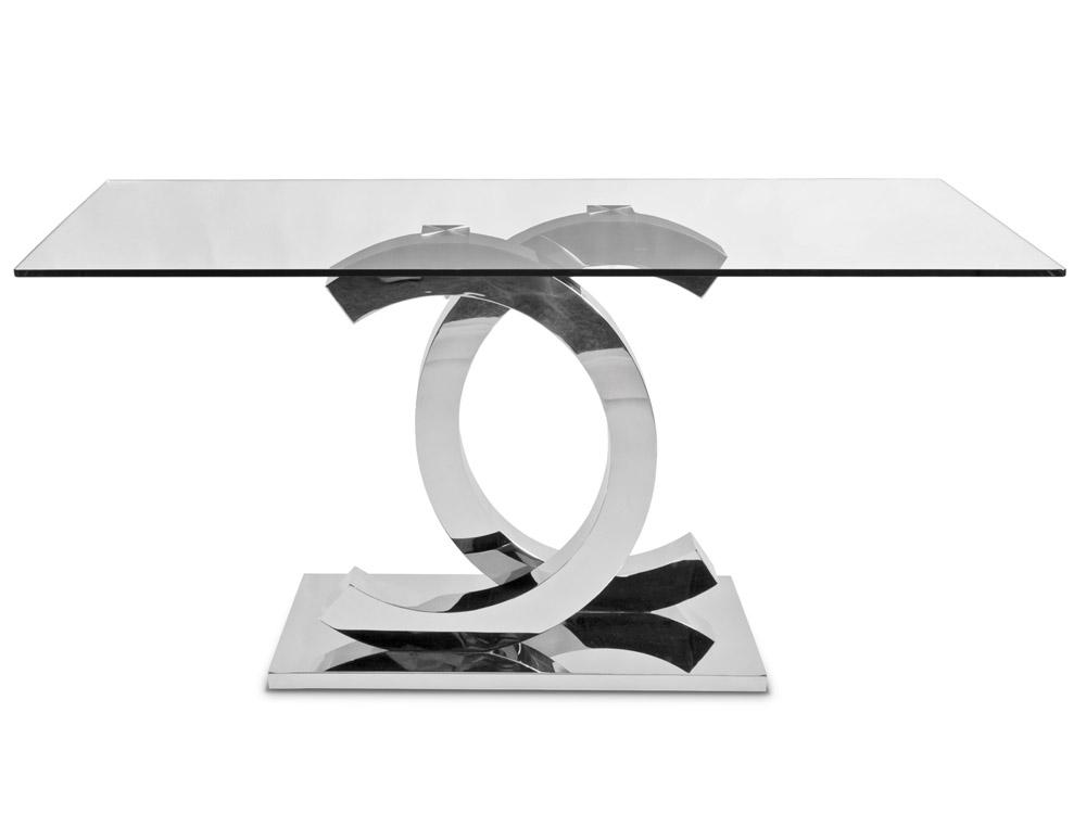 Eurohome Стильный столик с красивой подставкой 160 х 90х 75 см CT2020