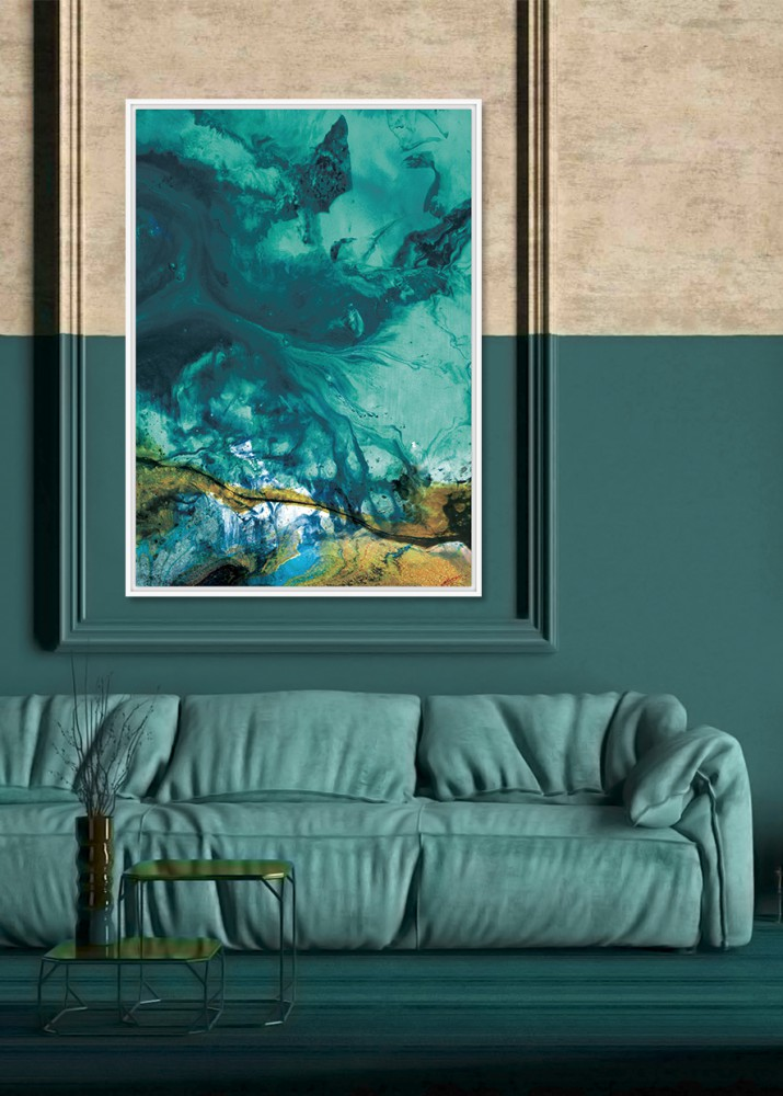 Eurohome Абстрактная морская картина 104 х 144 см TOIG22583