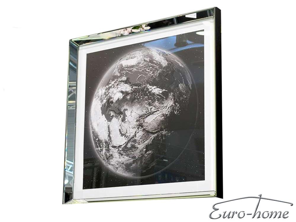 Eurohome ЗЕМЛЯ S22559 80x80cm РАМА ЗЕРКАЛА
