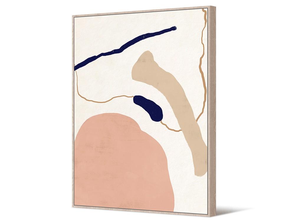 Eurohome Абстрактная живопись 102 х 142 см TOIR22752
