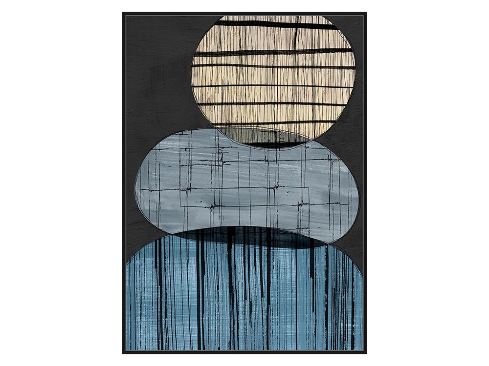 Eurohome Абстрактная современная живопись 102 х 142 см TOIR22828