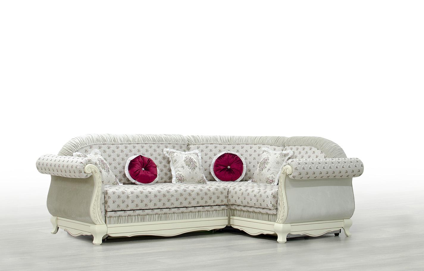 Mebus Лилея диван угловой 195х130