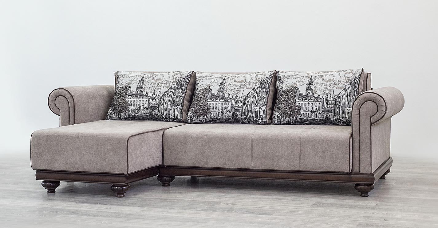 Mebus Техас диван с кушеткой 215х155