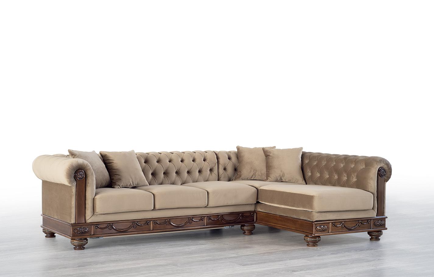 Mebus Манчестер диван (угол) 190х140