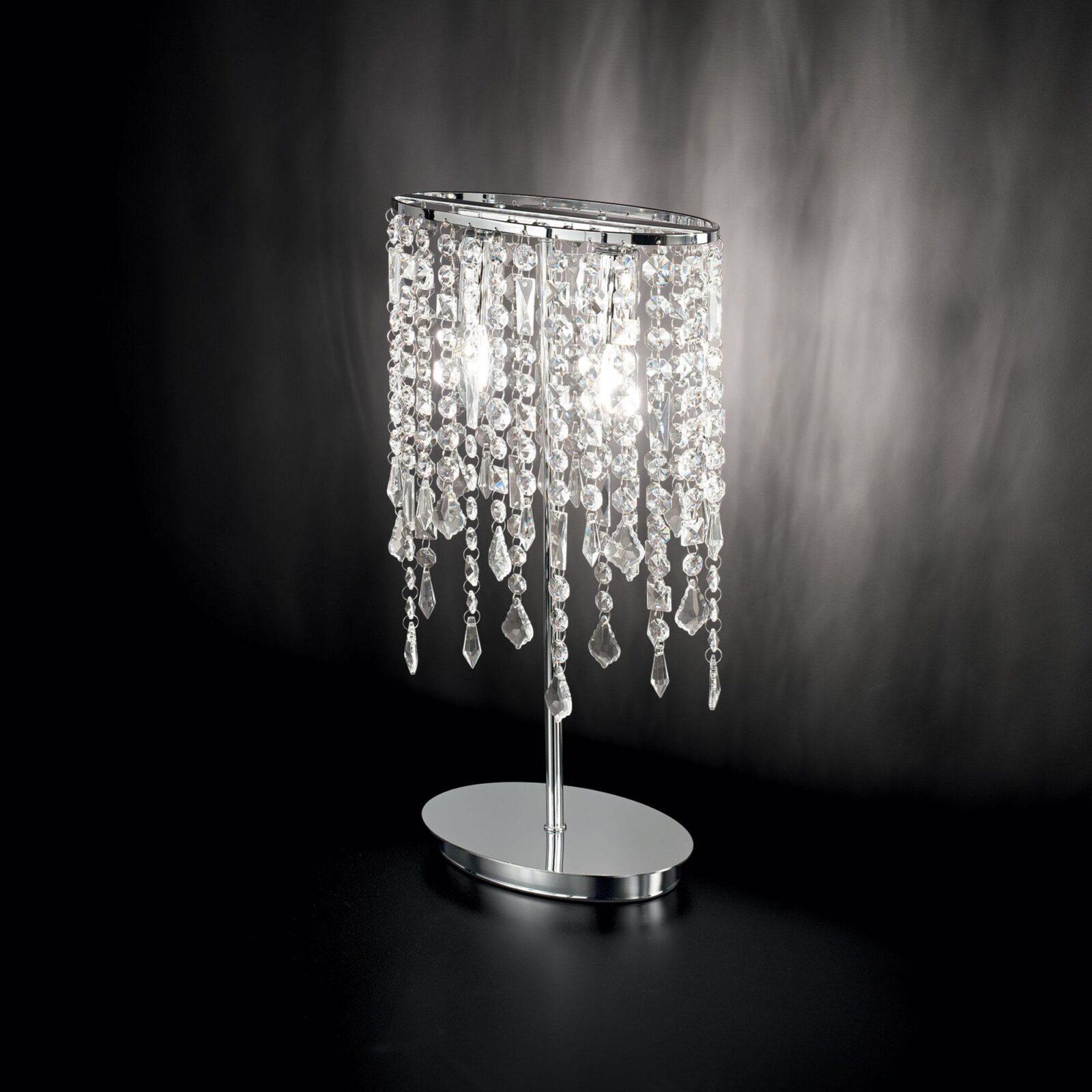 Ideal-lux Настольная лампа RAIN TL2 хром