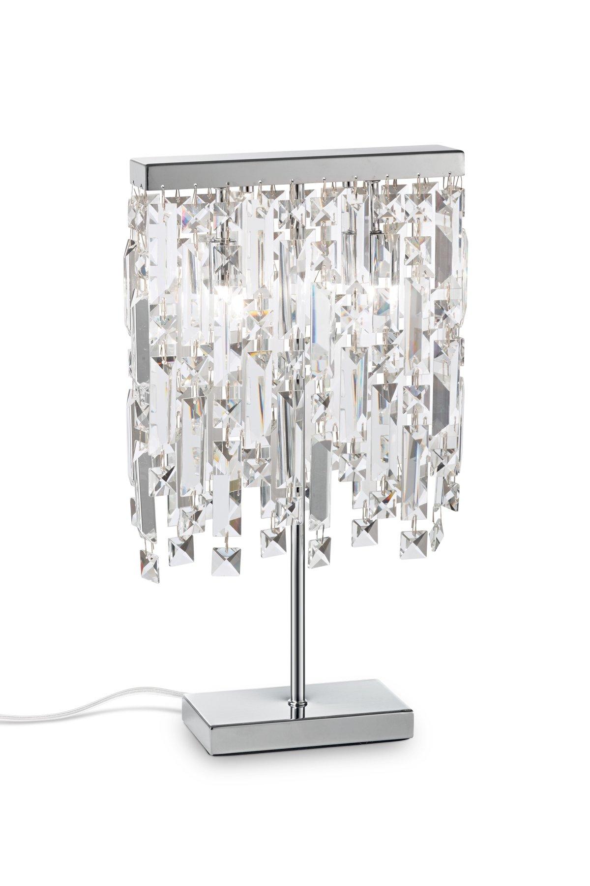 Ideal-lux Настольная лампа ELISIR TL2 хром