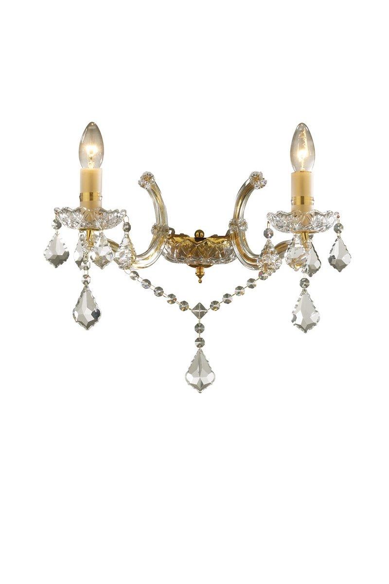 Ideal-lux Бра FLORIAN AP2 золото