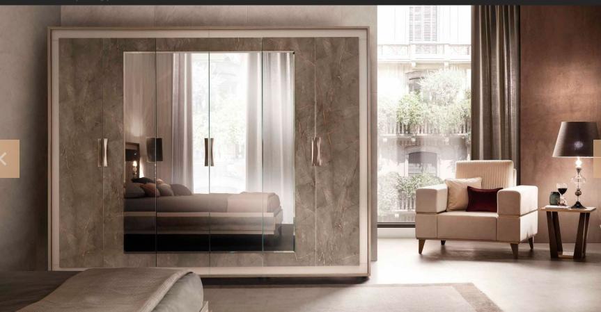 Arredo Classic Ambra Шкаф 6-дверный и 4-х дверный